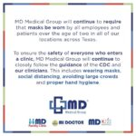 MD Medical Group Mask Policy